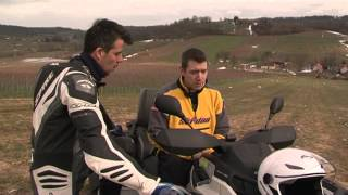QUAD - Can am, outlander 1000 (testna vožnja)