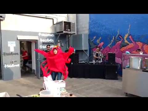 I hired a Redditor to be a crab for a party