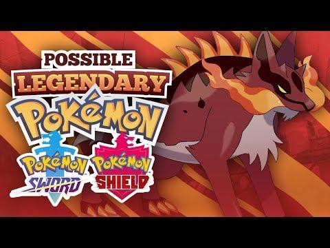 Possible Legendary Pokemon Trio In Pokemon Sword And Shield Youtube