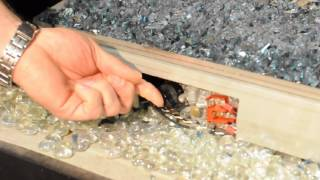 how to light the peterson g21 contemporary glass burner with series 12 valve