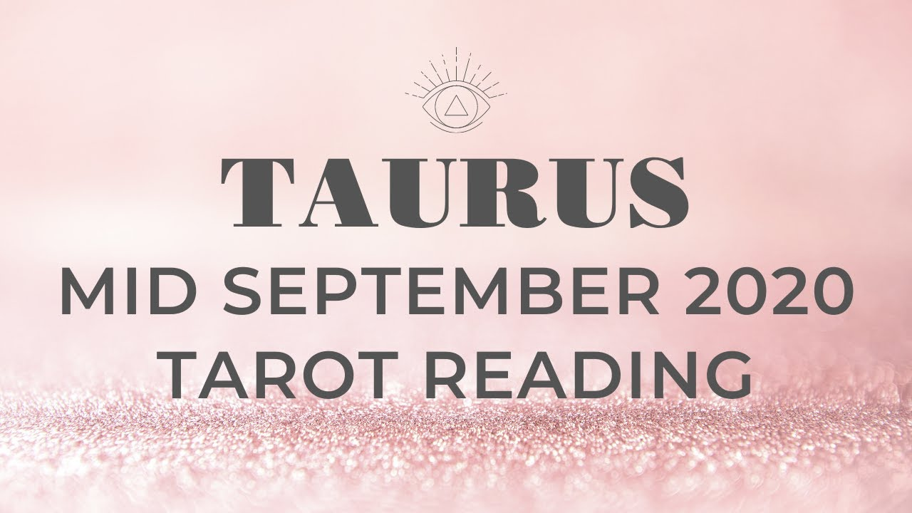 TAURUS MID SEPTEMBER - MUST WATCH! IMPORTANT MSG! THIS IS ONLY A TINY MOLE HILL! NOT A MOUNTAIN!