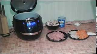Домашние видео рецепты: курица с шампиньонами в мультиварке