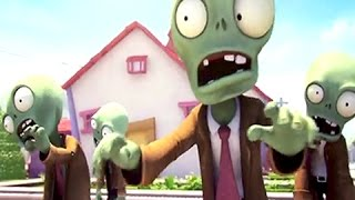 Plants Vs Zombies Online Funny Animation Trailer