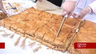 Աշխարհի ամենաերկար գաթան պատրաստվել է Երևանում