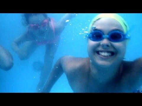 Каркасный бассейн. Веселые КОНКУРСЫ на день рождения для детей в бассейне с ЛЕШИМ!!!