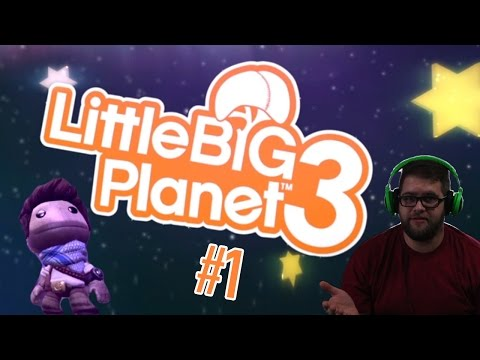 HE'S SO ADORABLE | Little Big Planet 3 | #1