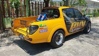 ไทรทันเหลือง-พี่ปุ้ย-ซุ้ม-ส-ดอนชัย-โคราช-เวอร์ชั่น-2-โบใหญ่-greddy-gtx4202r-รถซิ่งไทยแลนด์
