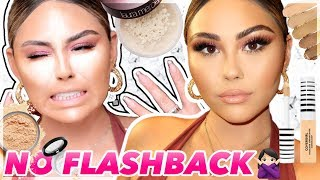 NO FLASHBACK Foundation Routine for Flawless Skin | Roxette Arisa