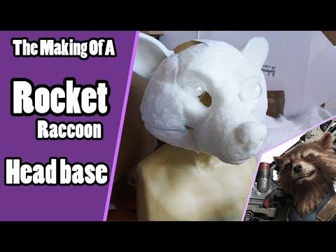 //The Making Of Rocket Raccoon #1// Head Base Tutorial - Guardians Of The Galaxy Cosplay