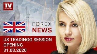 InstaForex tv news: 31.03.2020: USD to enjoy buoyant demand amid bleak prospects (USDХ, DJIA, WTI USD/CAD)