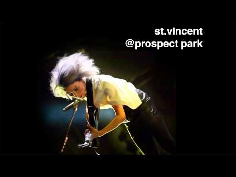 St. Vincent @ Prospect Park [AUDIO]