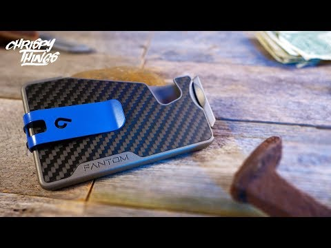 New FANTOM R Carbon Fiber Minimalist EDC Wallet Review!