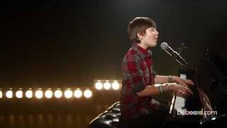 """Http://www.billboard.com/column/mashupmondays/greyson-chance-is-in-an-empire-state-of-1005034842.story sensation greyson chance performs his single """"w..."""