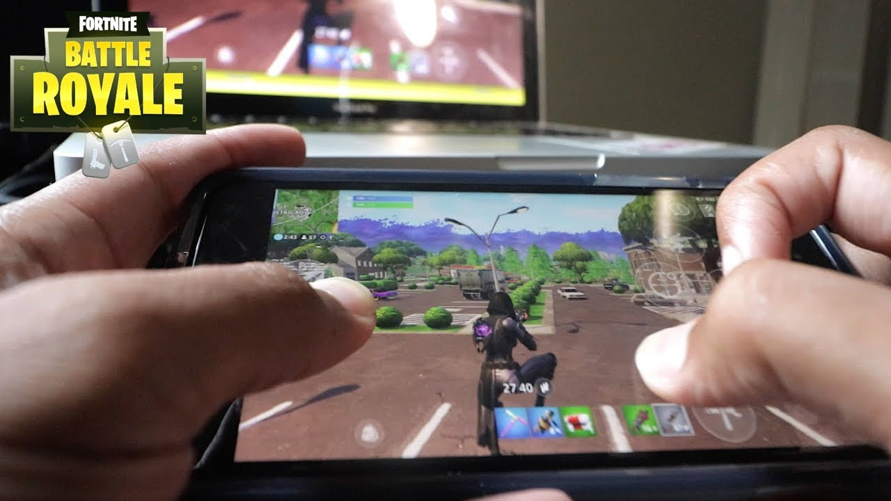 Fortnite Mobile Claw Hand Cam Iphone 8 Plus Youtube