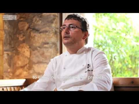Two Michelin Star chef Andoni Luis Aduriz  of Mugaritz restaurant Spain