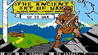 Ancient Art of War gameplay (PC Game, 1984)