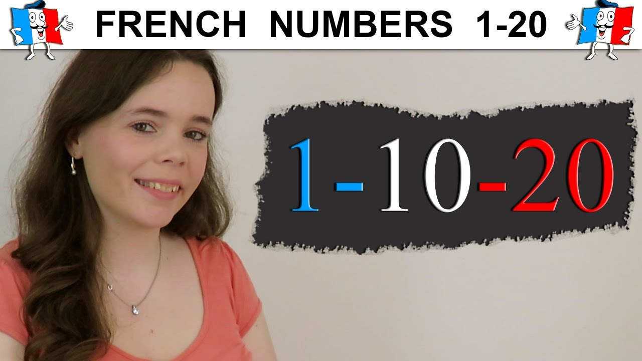 learn french numbers 1