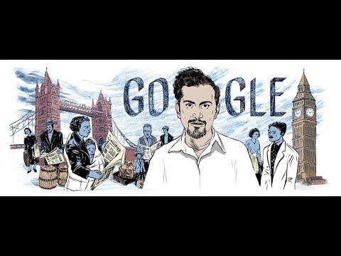 Sam Selvon Google Doodle