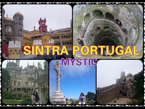 Sintra Portugal |Дворец Pena|Кинта да Регалейра|Круги Ада|Грот девственницы|HelenLin1 2015