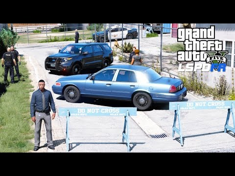 GTA 5 LSPDFR Police Mod #595 Detective Ace Is On The Case - LS Noir #1 Solving Our First Crime Case