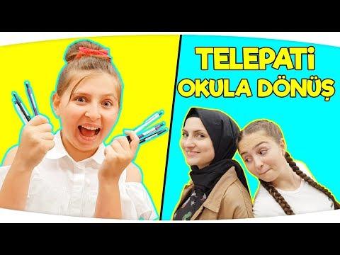 TELEPATİ OKULA DÖNÜŞ , Back to School | TELEPATİ CHALLENGE Fenomen Tv Okula Dönüş, Kırtasiye