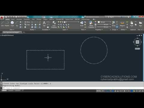 How To Change Line Type And Line Weight In AutoCAD