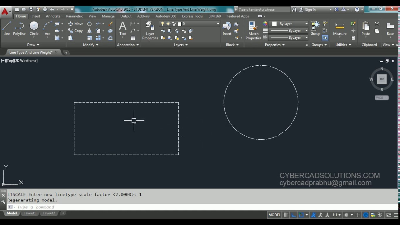 Modifying entities – Complete AutoCAD Video Tutorial in English