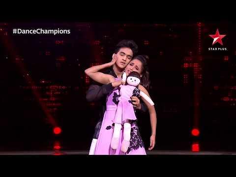 Dance Champions | Faisal and Vaishnavi's spine-chilling performance