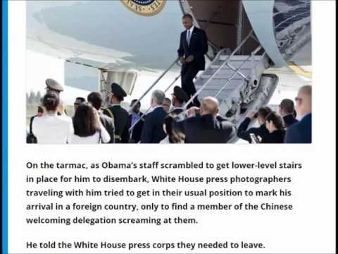 Secret Service heated argument with China officials as US officials, and Obama land in China