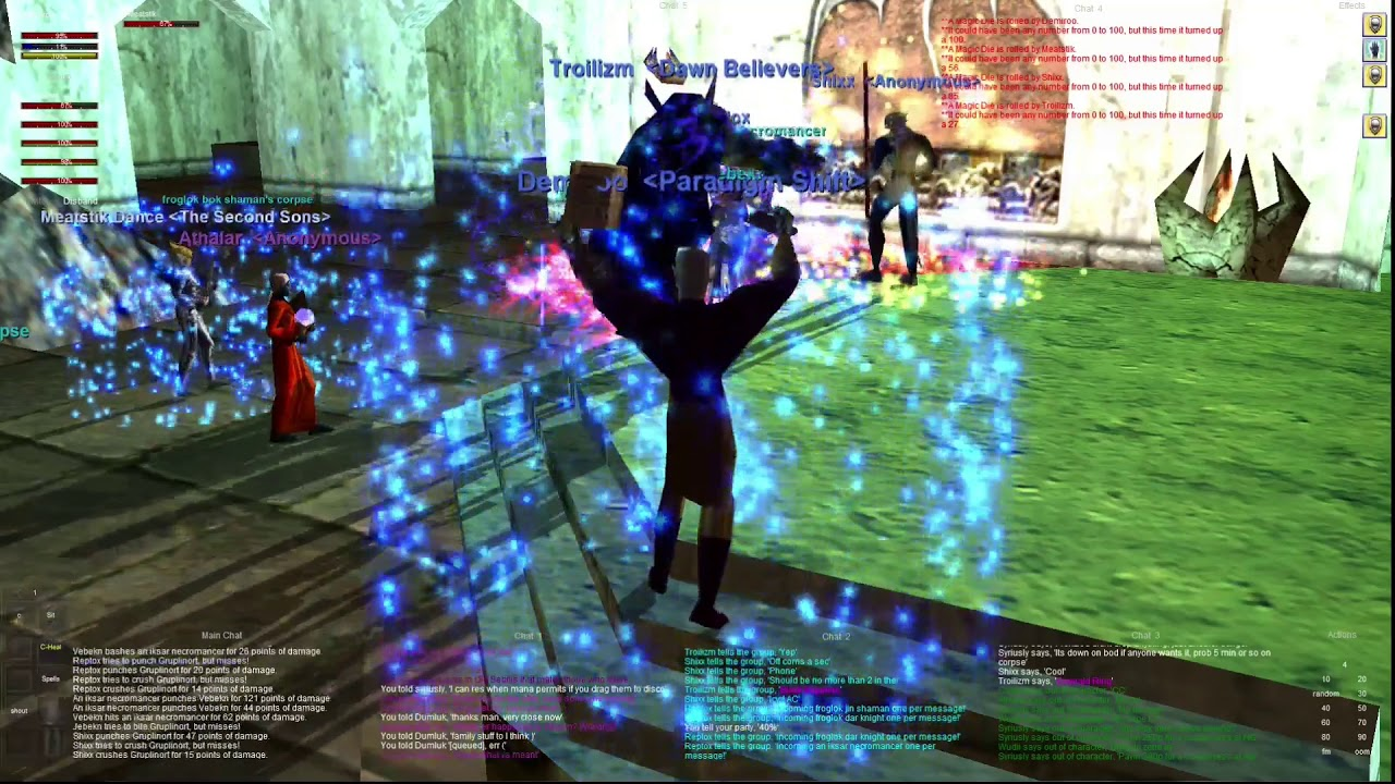 Everquest old school P99 : Part 477 - Grouping - Seb - High Elf Cleric