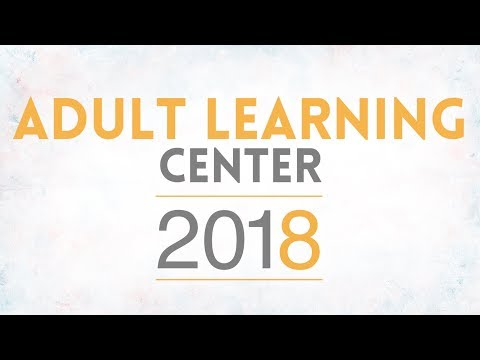Adult Learning Center Graduation - Class of 2018