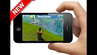 HOW TO GET FORTNITE ON iPHONE 4 & 5 *APRIL 2018* WORKING METHOD / HACK