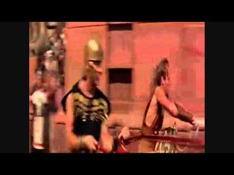 Ben Hur the chariot race short