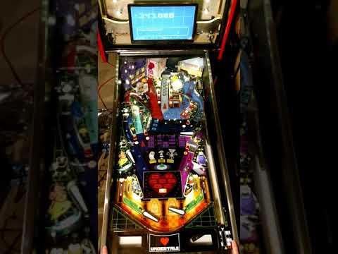 Undertale Pinball Machine Is A Work Of Art | Hackaday