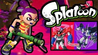 Splatoon Wii U Splatfest LIVE! Autobots VS Decepticons NEW Bamboozler 2.0 Online Stream Gameplay HD