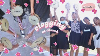 church girl be vlogging at church ☁️