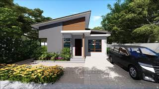 Home Design Idea    2 Bedroom  70 Sq.m Floor Area   Speed 3d Modeling