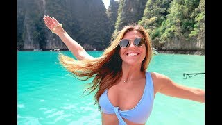 Phi Phi Boat Tour - SECRET SPOT on Maya Bay + Swimming with SHARKS (Study Abroad Thailand)