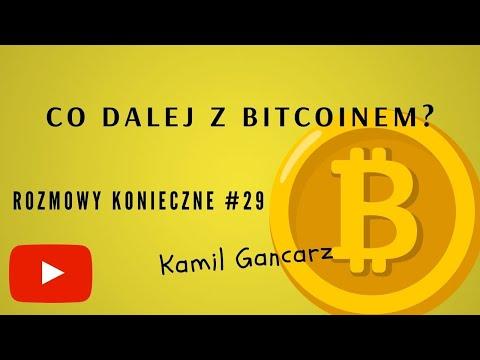 Co dalej z Bitcoinem Kamil Gancarz - czy tradycyjna giełda wpływa na bitcoina?