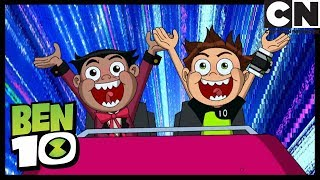 Ben 10 | Billy Billions and Ben go to the theme park together | Prey or Play | Cartoon Network