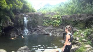 Gopro: Two girls hiking in Hawaii
