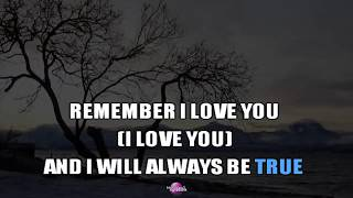 REMEMBER I LOVE YOU (Karaoke Version) - Jim Diamond
