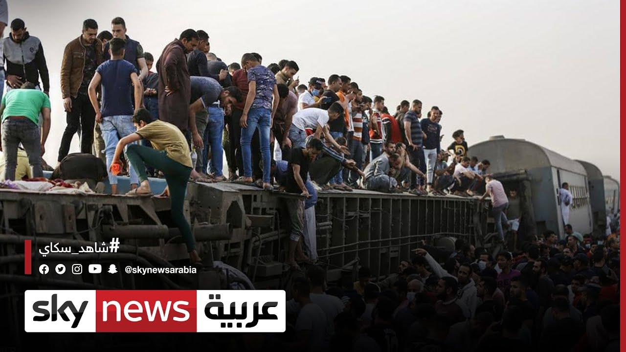 القبض على سائق قطار طوخ ومساعده على ذمة التحقيق  - نشر قبل 2 ساعة