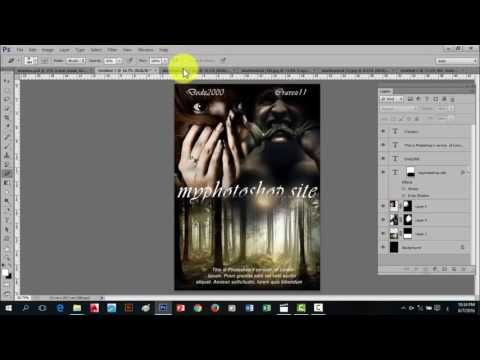 Basic Photoshop cs6 Tagalog tutorials for beginners ( layer mask)