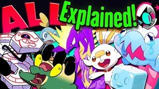 EVERY Gen 8 Pokemon EXPLAINED! - Design Origins! | Gnoggin - Pokemon Sword and Shield