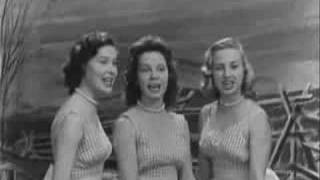 La Dell Sisters - Bye Bye Love (oldies)