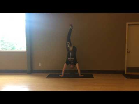 Harder Hand Stand Form