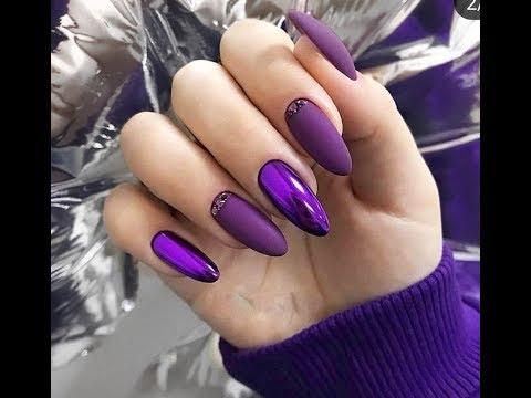 Очень эффектный маникюр с втиркой 2019/Модный дизайн ногтей с втиркой фото идеи тенденции