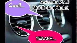 cara mencuci AC Mobil mudah dan murah dengan cairan pembersih