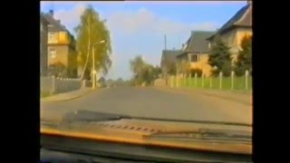 Fahrt durch Grimma April 1991 Teil 1